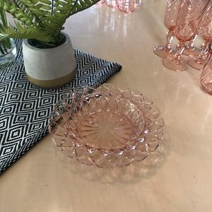 Other - CUTE Pink Depression Glass Tray